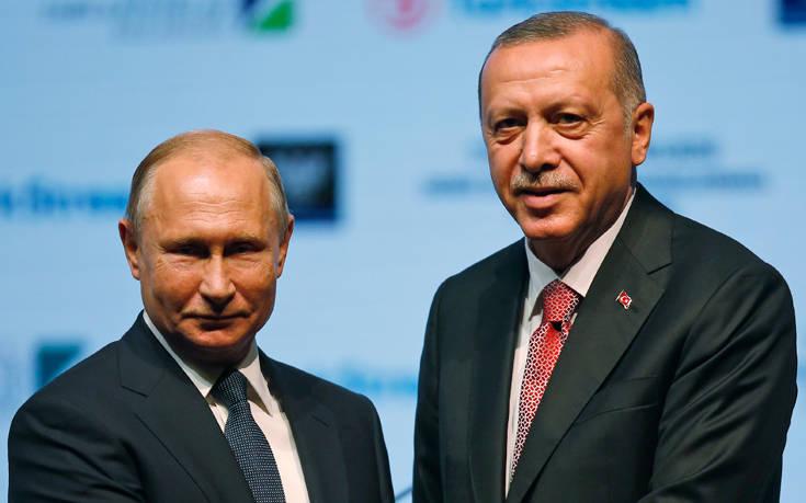 Συνάντηση Πούτιν, Ερντογάν και Ροχανί για τη συριακή κρίση