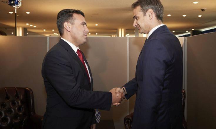 Η συνάντηση Μητσοτάκη-Ζάεφ στο επίκεντρο κόντρας κυβέρνησης και αντιπολίτευσης