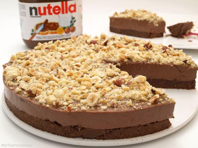 Πανεύκολο Cheesecake Νutella χωρίς ψήσιμο