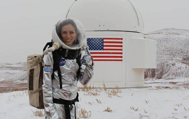 Τι ακριβώς συμβαίνει με την Ελληνίδα ερευνήτρια που βραβεύτηκε για τη συνεργασία της με τη NASA
