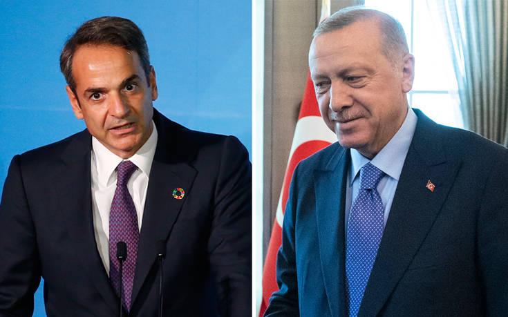 Αντίστροφη μέτρηση για το κρίσιμο τετ α τετ Μητσοτάκη – Ερντογάν