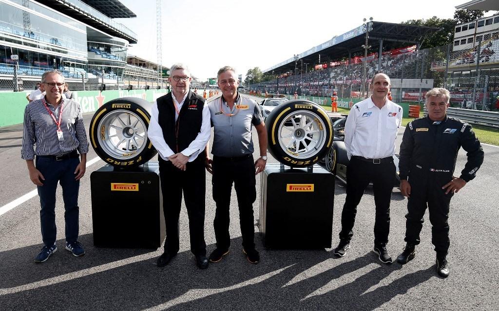 Τα νέα ελαστικά για την Formula 1 και Formula 2 18 ιντσών παρουσίασε η Pirelli