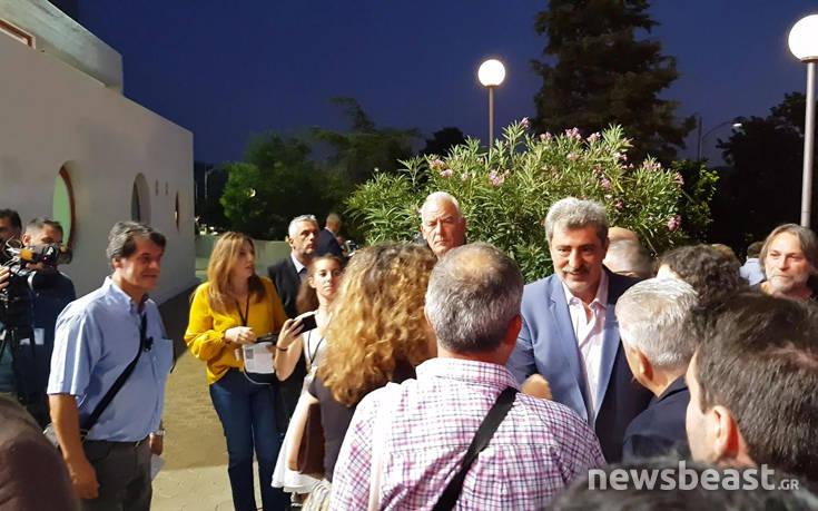 Αυτός ήταν ο μοναδικός υπουργός του ΣΥΡΙΖΑ που χειροκροτήθηκε μπαίνοντας στο Βελλίδειο