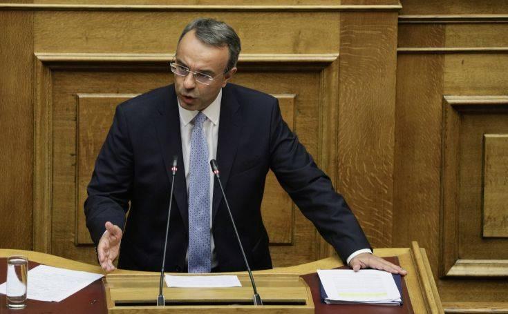 Σταϊκούρας: Η υπερφορολόγηση επί ΣΥΡΙΖΑ οδήγησε σε απώλεια 3 δισ. ευρώ