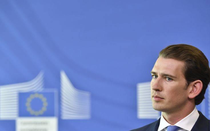 Κουρτς: Άμεση αποστολή της Frontex στα ελληνικά και βουλγαρικά εξωτερικά σύνορα της ΕΕ