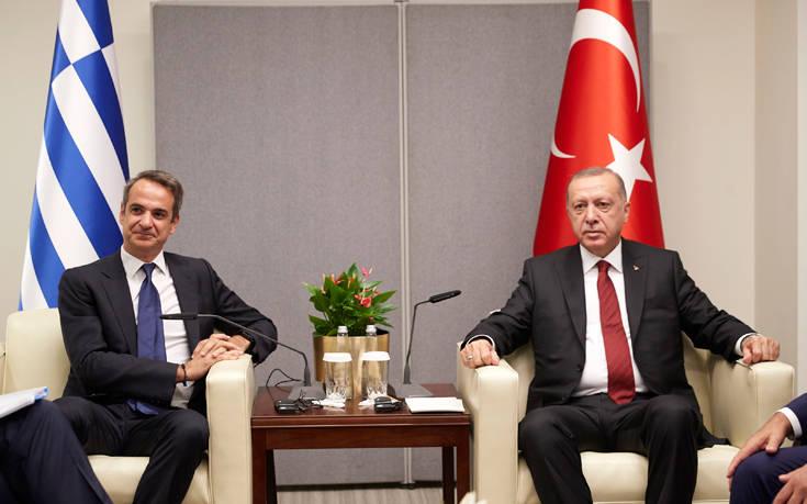 Το σχόλιο του Κυριάκου Μητσοτάκη για τη συνάντηση με τον Ερντογάν