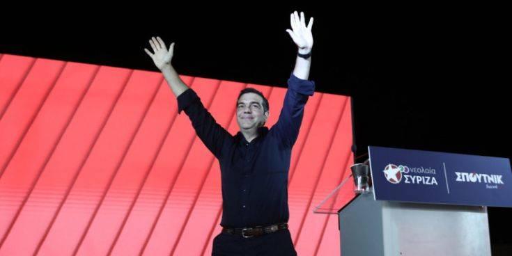 Αλέξης Τσίπρας: «Οι νέοι να πάρουν τον ΣΥΡΙΖΑ στα χέρια τους και να φτιάξουν τον ΣΥΡΙΖΑ της νέας εποχής»