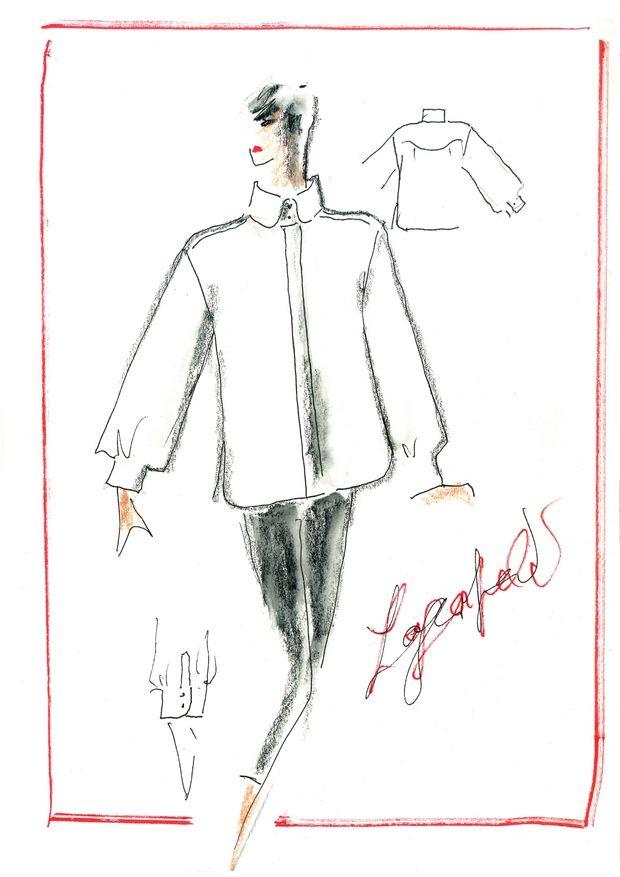 The White Shirt Project: Σχεδιαστές, μοντέλα και fashion icons σχεδιάζουν για τον Karl Lagerfeld