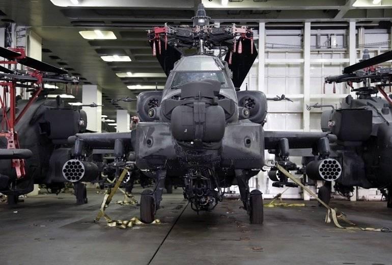 Στον Βόλο ελικόπτερα Απάτσι του αμερικανικού στρατού