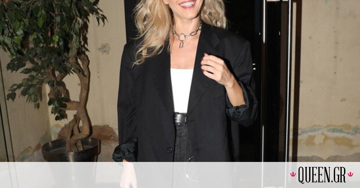 H Τάμτα φόρεσε το μαύρο jean με τον πιο cool τρόπο που έχουμε δει