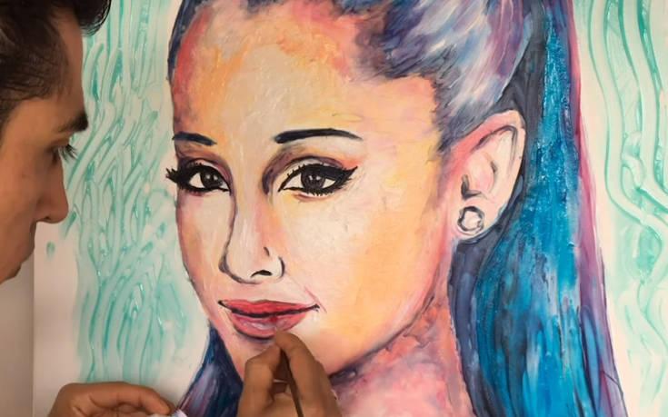 Πορτρέτα φτιαγμένα από οδοντόκρεμα