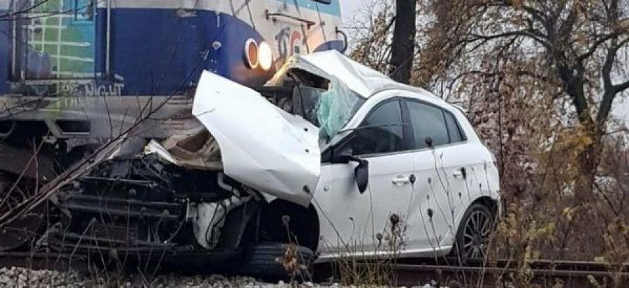Φλώρινα: Τρένο παρέσυρε αυτοκίνητο σε αφύλακτη διάβαση