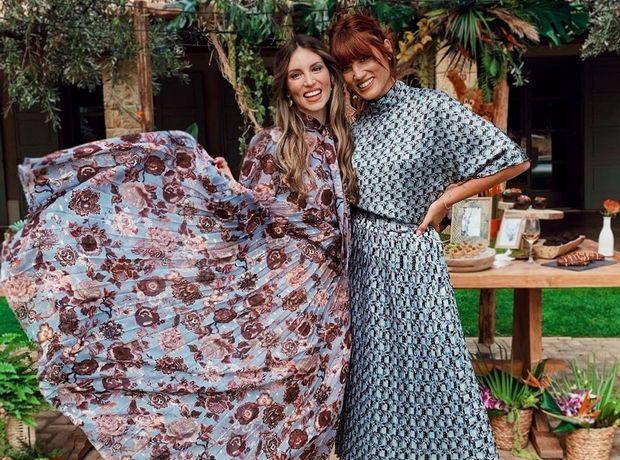 Η Αθηνά Οικονομάκου και η Μαίρη Συνατσάκη μάς δείχνουν πώς να φορέσουμε τα prints το φθινόπωρο