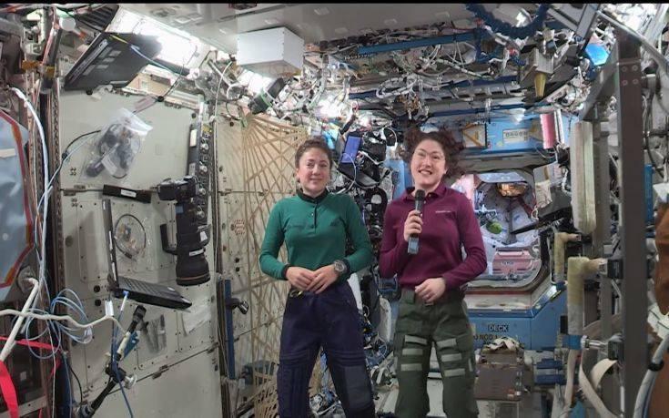 Στις 21 Οκτωβρίου ο διαστημικός περίπατος της NASA αποκλειστικά για γυναίκες