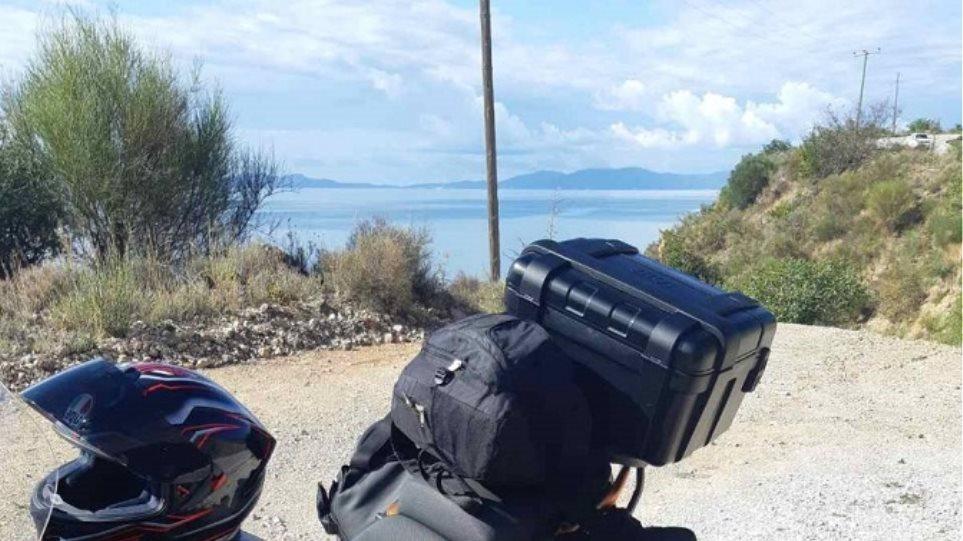 Θεσπρωτία: Μετέφερε πάνω από 16 κιλά χασίς σε μπαγκαζιέρα μηχανής