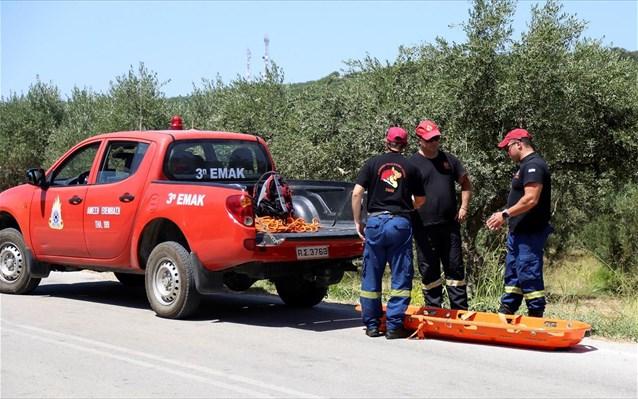 Τραγωδία στο Ηράκλειο: Νεκρός 73χρονος αγρότης που έπεσε με τρακτέρ σε γκρεμό