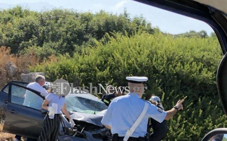 Κρήτη: Θανατηφόρο τροχαίο μετά από μετωπική σύγκρουση δυο αυτοκινήτων