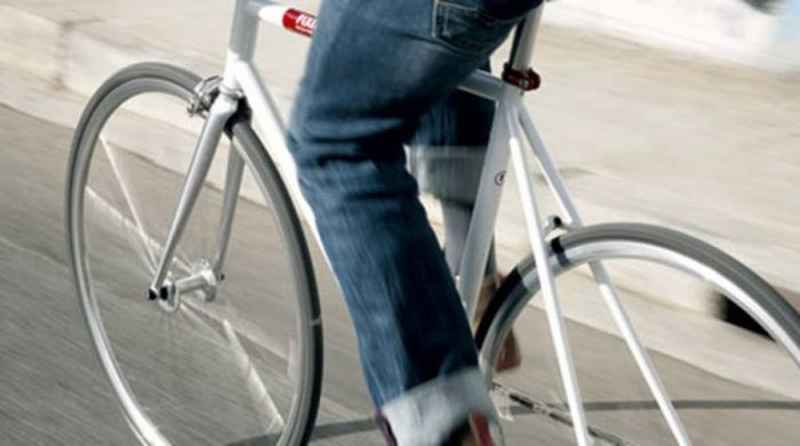 """Λάρισα: """"Έπεσε"""" πρόστιμο σε 20χρονο ποδηλάτη που κινούνταν αντίθετα σε μονόδρομο! (εικόνα)"""