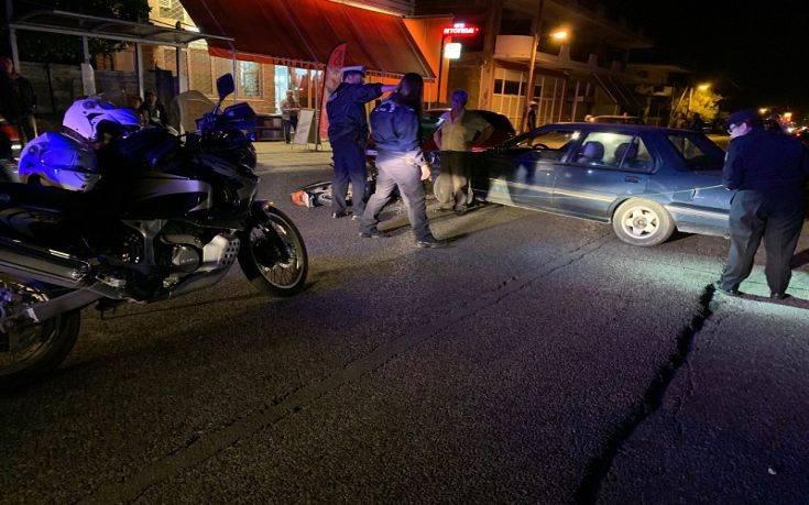 Αγρίνιο: Τραυματίστηκε δικυκλιστής σε τροχαίο με αυτοκίνητο