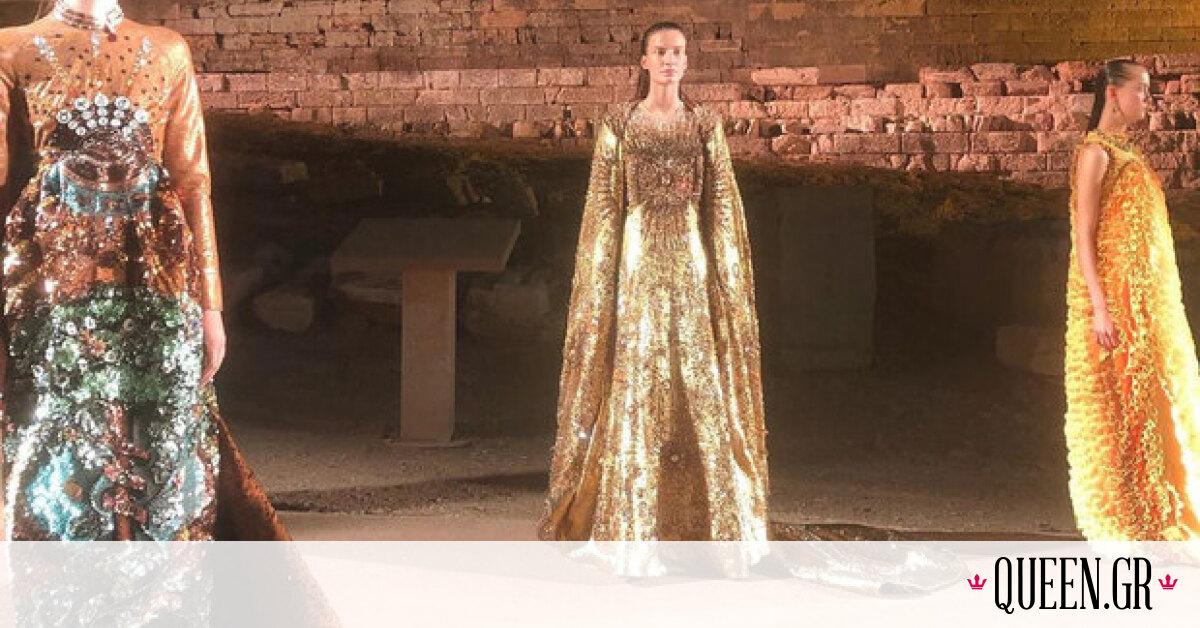 H Μary Katrantzou παρουσίασε χθες ένα fashion show που έκοβε την ανάσα και σκόρπιζε την «ΕΛΠΙΔΑ»