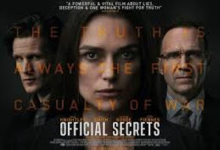 Official Secrets – Κρατικά Μυστικά, Πρεμιέρα: Οκτώβριος 2019 (trailer)