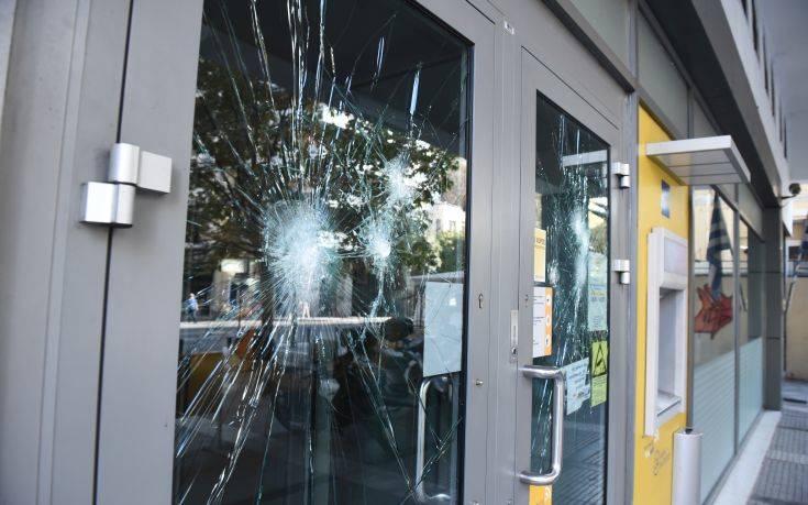 Θεσσαλονίκη: Επίθεση σε τράπεζες τη νύχτα στη Βασιλίσσης Όλγας