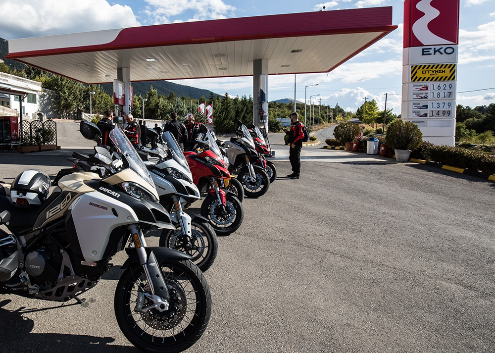 EKO DUCATI TOUR: ένα απολαυστικό τριήμερο road-trip 850 χιλιομέτρων!