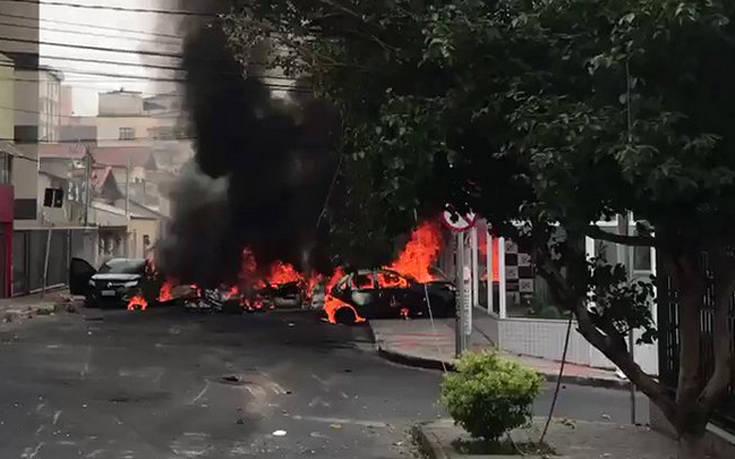 Συντριβή αεροπλάνου στη Βραζιλία με τρεις νεκρούς
