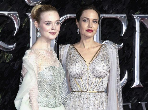 Angelina Jolie-Elle Fanning: Τα dreamy φορέματά τους αγγίζουν την τελειότητα