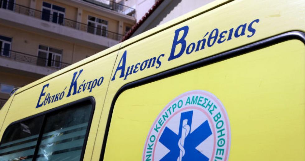 Σφοδρή σύγκρουση αυτοκινήτων στην Κρήτη – Πέντε τραυματίες