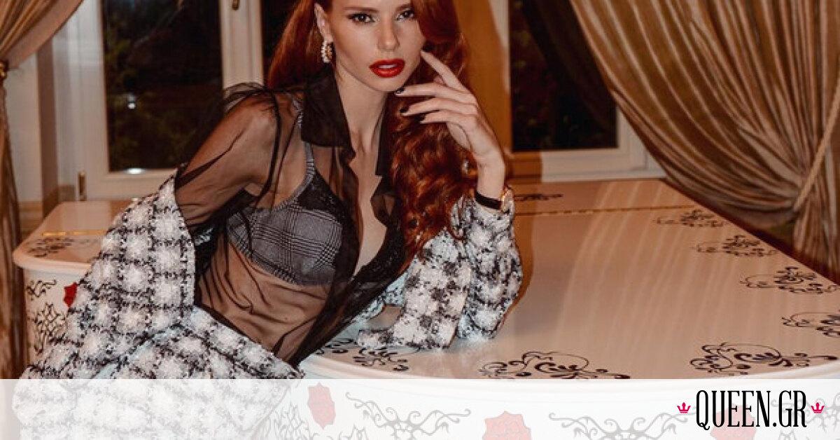 Η Έβελυν Καζαντζόγλου φόρεσε το πιο hot trend του χειμώνα