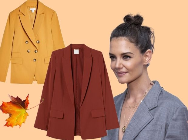 Η Katie Holmes φόρεσε το τέλειο φθινοπωρινό σακάκι και 5 ακόμη που χρειάζεσαι στην ντουλάπα σου