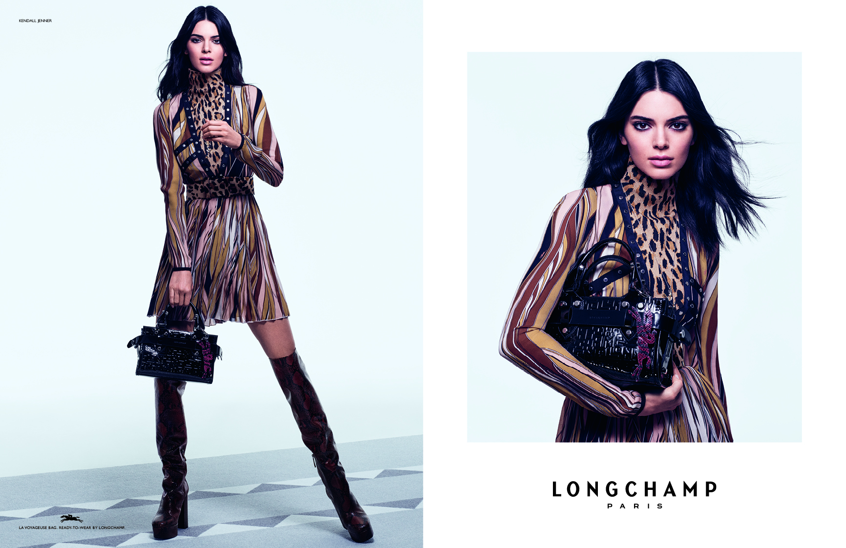 H Κendall Jenner μόλις κράτησε τις It-bags της νέας σεζόν, στην καμπάνια της Longchamp