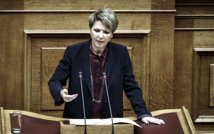 Όλγα Γεροβασίλη: Απειλούν προστατευόμενους μάρτυρες και «ξεπλένουν» σκάνδαλα