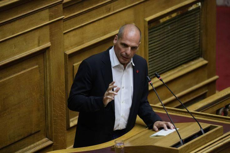 Βαρουφάκης: Η κυβέρνηση δεν πρόκειται να πετύχει τίποτα με το αναπτυξιακό νομοσχέδιο