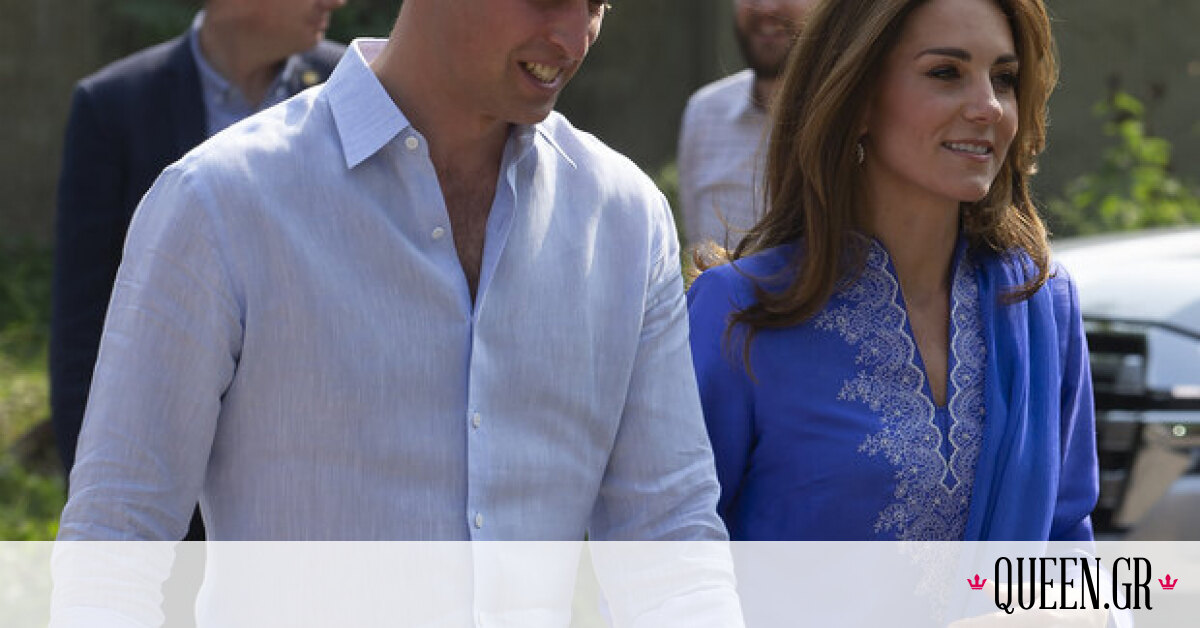 H Kate Middleton, με παραδοσιακή ενδυμασία της χώρας, στην πρόσφατη επίσκεψή της στο Πακιστάν