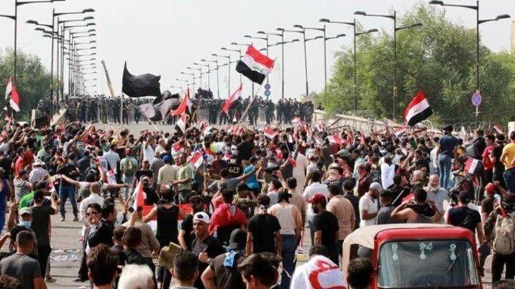 Ιράκ: Με βίαιο τρόπο τερματίστηκαν οι διαδηλώσεις