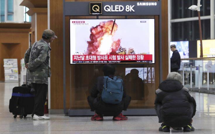 Βόρεια Κορέα: Νέα επιτυχημένη εκτόξευση «πολλαπλών πυραύλων»