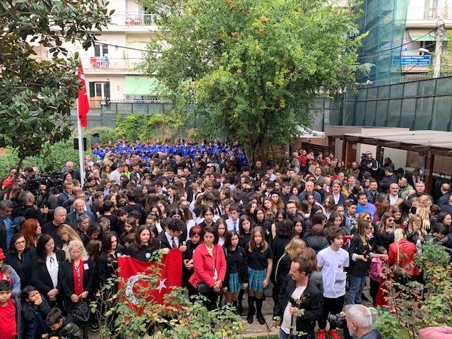 Γέμισε Τούρκους η Θεσσαλονίκη για την επέτειο θανάτου του Κεμάλ Ατατούρκ