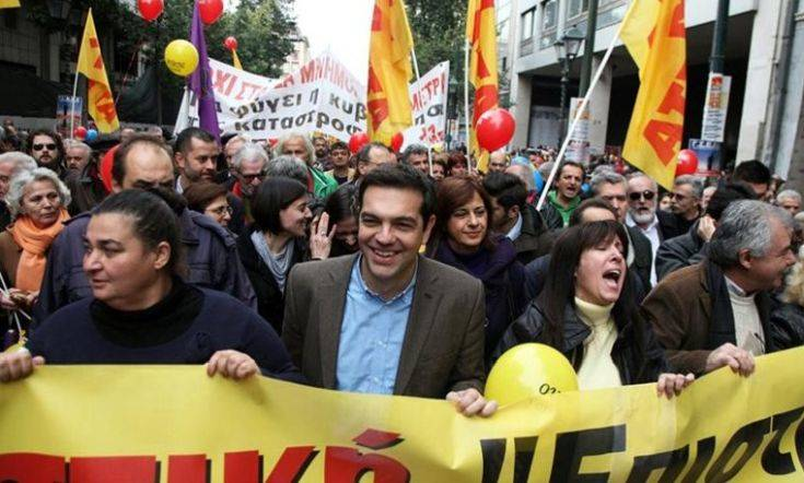 Επέτειος Πολυτεχνείου: Ο Αλέξης Τσίπρας στο μπλοκ του ΣΥΡΙΖΑ για την πορεία