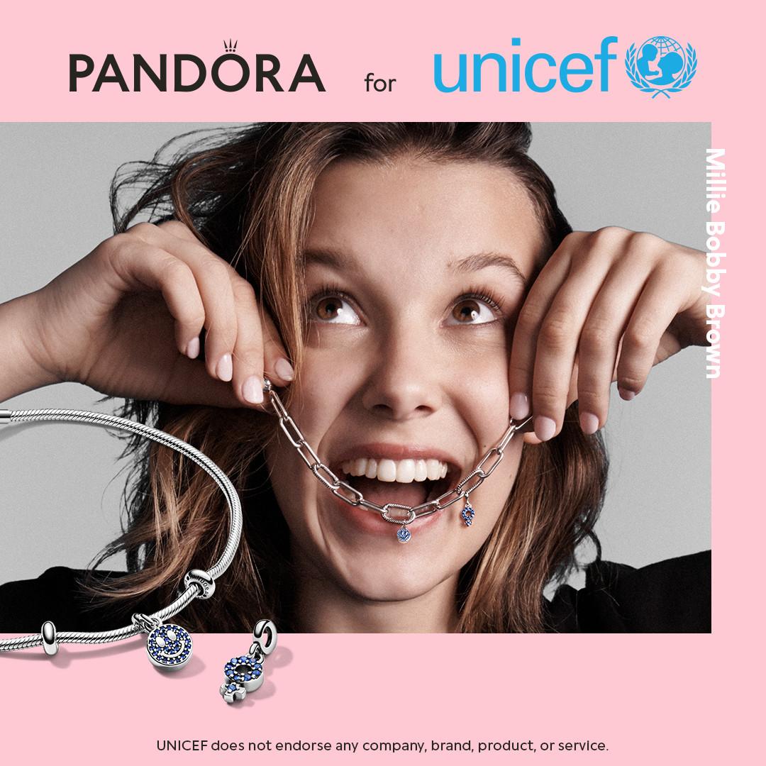 PANDORA και UNICEF ενώνουν τις δυνάμεις τους για καλό σκοπό
