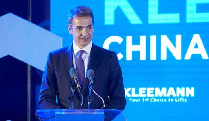 Ο Κυριάκος Μητσοτάκης συστήνει ξανά την Ελλάδα στην Κίνα