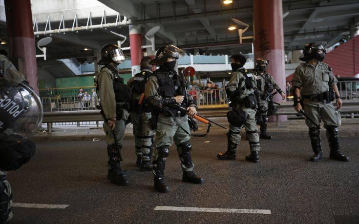 Χονγκ Κονγκ: Χρήση χημικών από τους αστυνομικούς στις αντικυβερνητικές συγκεντρώσεις