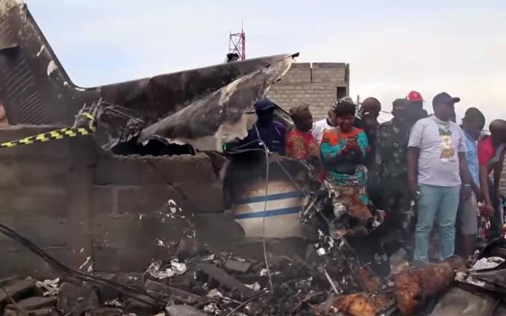 Αεροπορική τραγωδία στο Κονγκό: Αεροπλάνο έπεσε πάνω σε σπίτια, 29 νεκροί