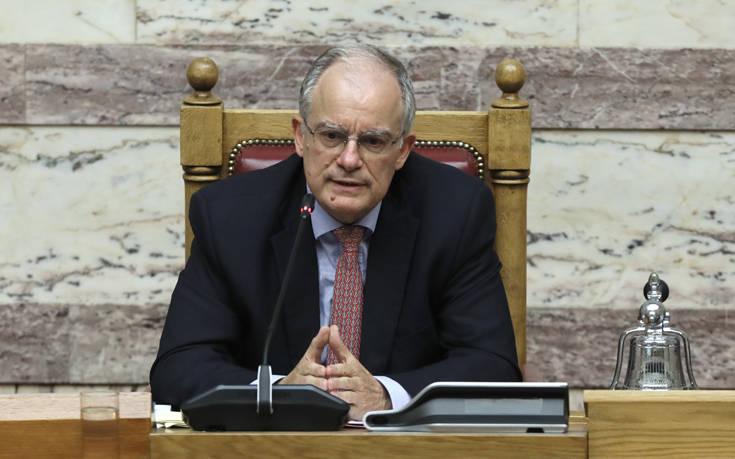 Συλλυπητήρια από τον πρόεδρο της Βουλής για τον θάνατο της Φρόσως Σπεντζάρη