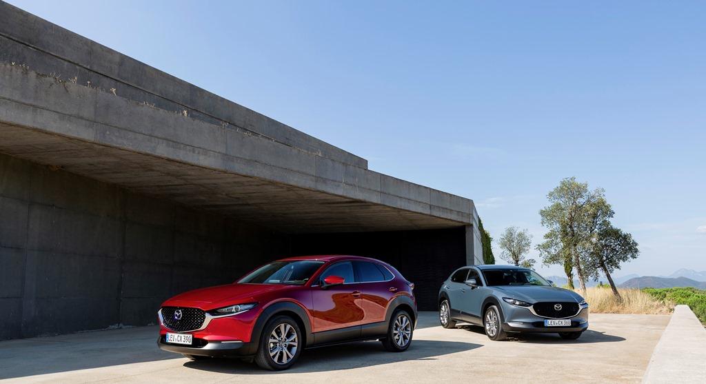 Στην αξιολόγηση του Euro NCAP το Mazda CX-30 κατακτά 5 αστέρια