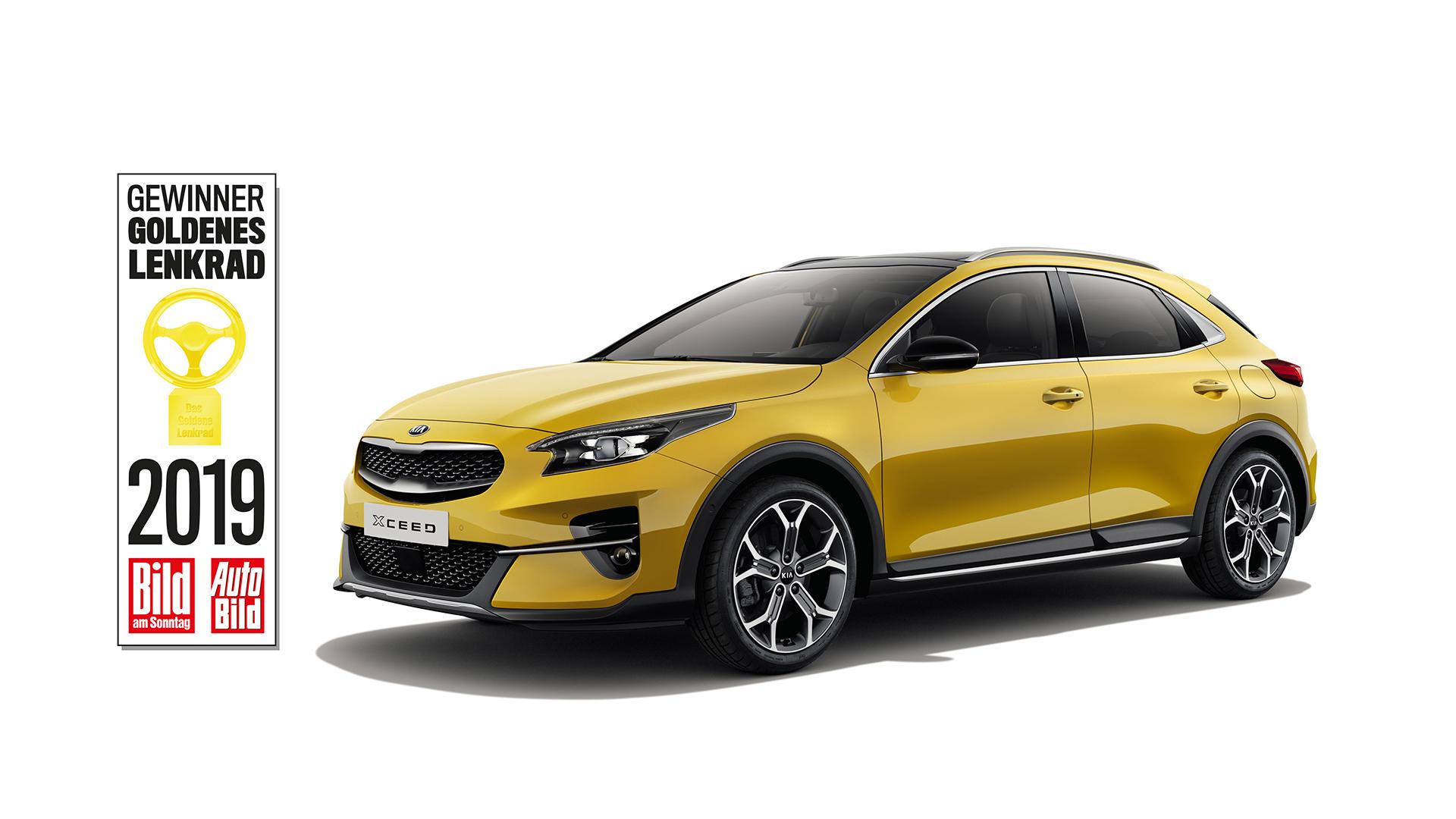 Με το βραβείο «Χρυσό Τιμόνι 2019» διακρίθηκε το Kia XCeed