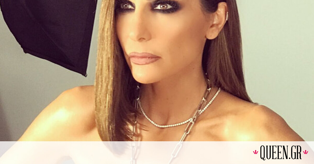 Το look της Δέσποινας Βανδή στην αφίσα του «Acro» είναι ό,τι πιο glam & chic έχουμε δει τελευταία