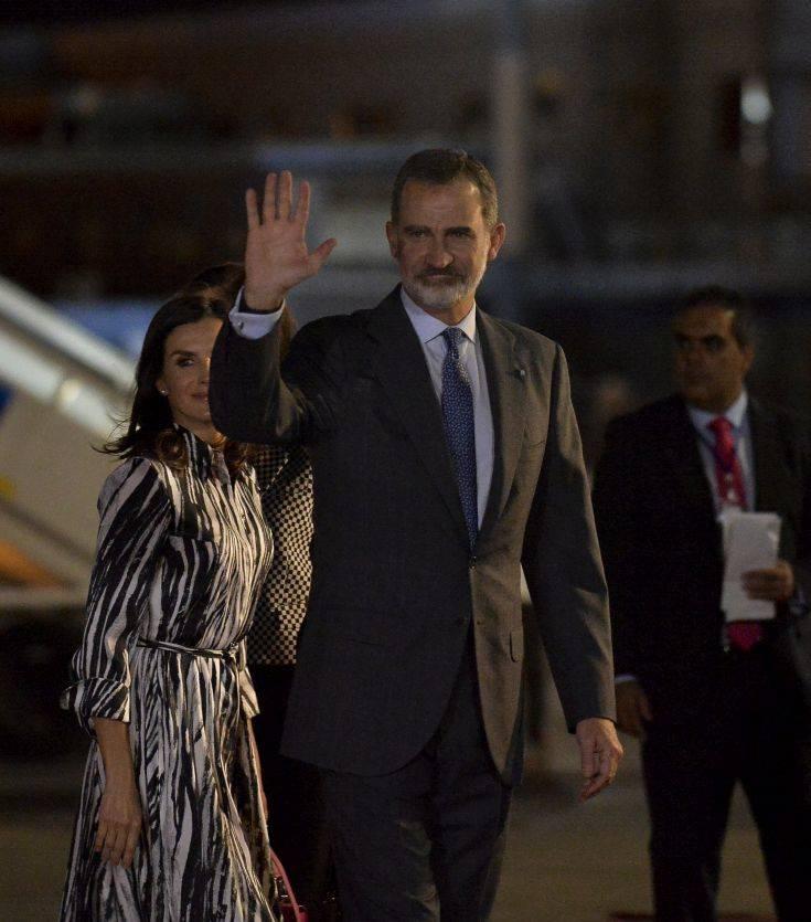 Το βασιλικό ζεύγος της Ισπανίας επισκέπτεται την Κούβα