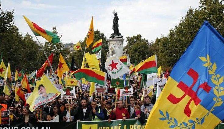 Γαλλία: Εκατοντάδες Κούρδοι στους δρόμους για κυρώσεις στην Τουρκία